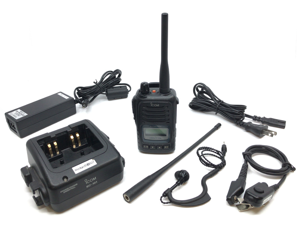 [レンタル]IC-D50耳掛けイヤホンマイクセット