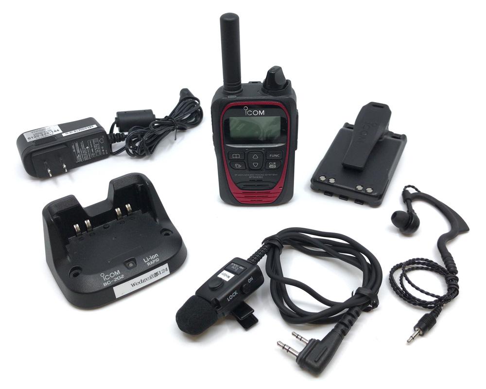 [レンタル]IP500H耳掛けイヤホンマイクセット