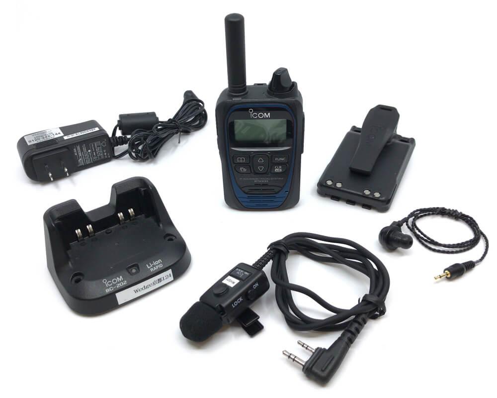 アイコム(ICOM)/[レンタル]IP501H耳挿しイヤホンマイクセット