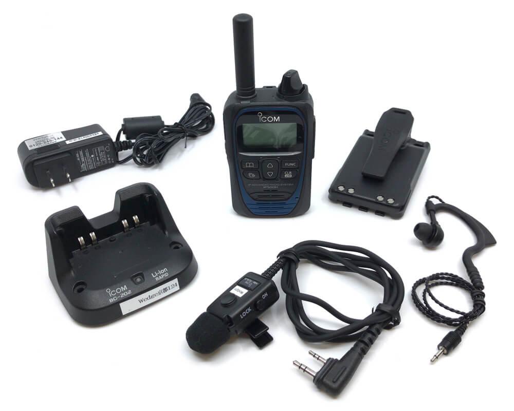 [レンタル]IP501H耳掛けイヤホンマイクセット