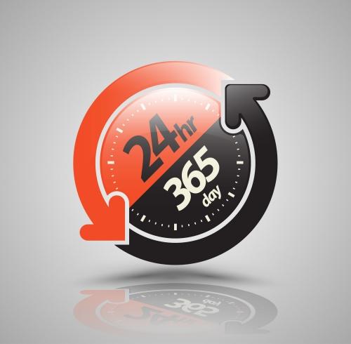 長時間運用(24時間、365日使用)したい